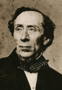 Photograph of Hans Christian Andersen